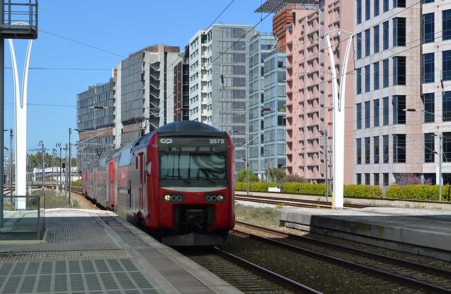Estação / Gare do Oriente  Lisboa  CP Baureihe 3500
