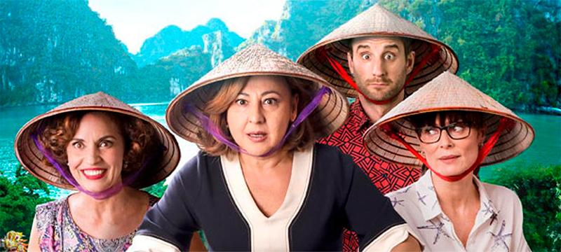 La imagen promocional muestra a los cuatro protagonistas