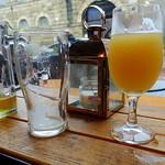 Pint at The Orchard bar at Preston Market