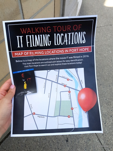 Walking tour of It filming locations