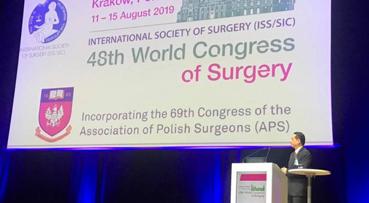 Health DG delivers prestigious lecture in Poland