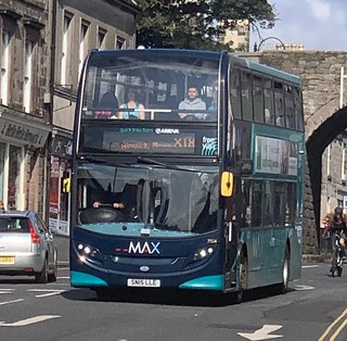 Arriva North East 7554 SN15 LLE (13/08/2019)