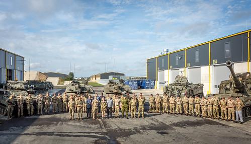 Kohtumine UK eFP sõduritega, 13.08.2019