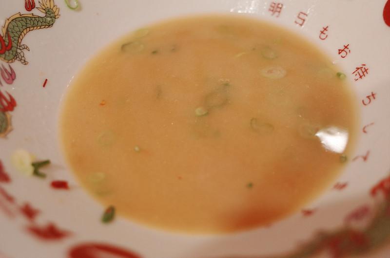 池袋西口天下一品屋台の味のスープ