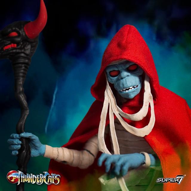 邪靈現身! Super7 Thundercats Ultimate Figure《霹靂貓》木乃伊 Mumm-Ra Mummy 7吋可動人偶作品