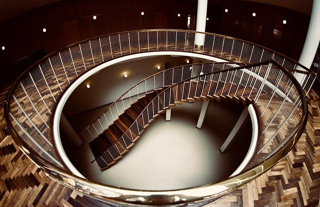 Fisheye Stairs