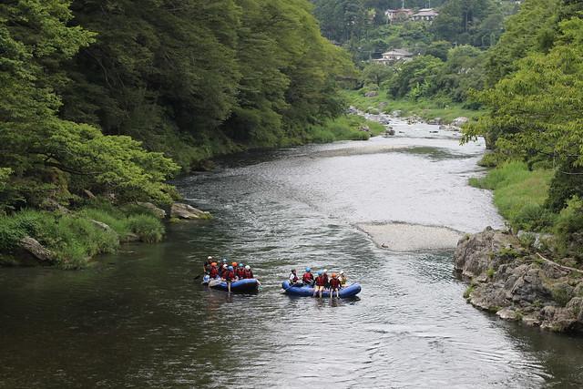 Fun of River Boat