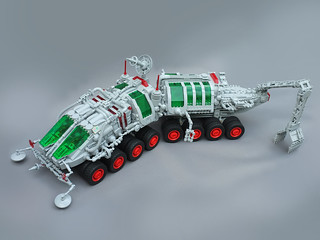 Rover inspired by Piotr Turecki's Surface Explorer