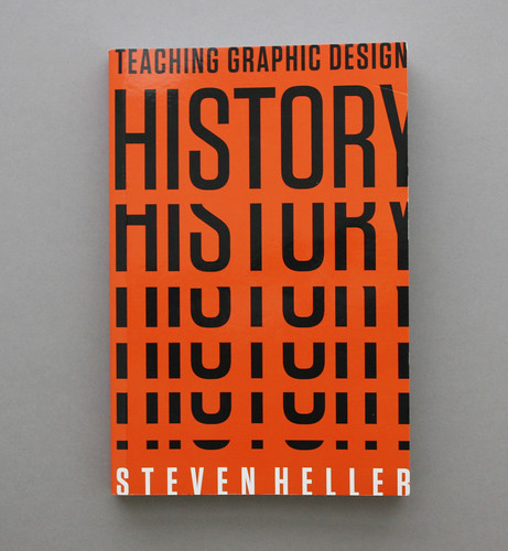 Cover of Teaching Graphic Design History