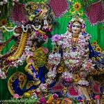 ISKCON Vrindavan Deity Darshan 13 Aug 2019