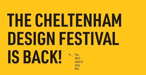 Cheltenham Design Festival 2019