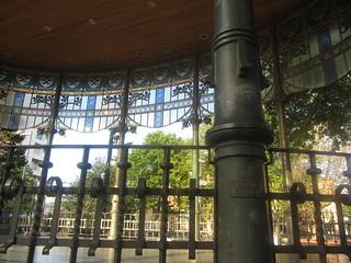 Details of Art Nouveau  Bandstand