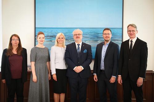 Valsts prezidenta Egila Levita tikšanās ar pilsoniskās alianses un NVO pārstāvjiem