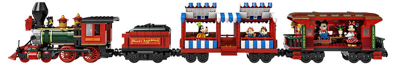 71044 Disney Train & Station