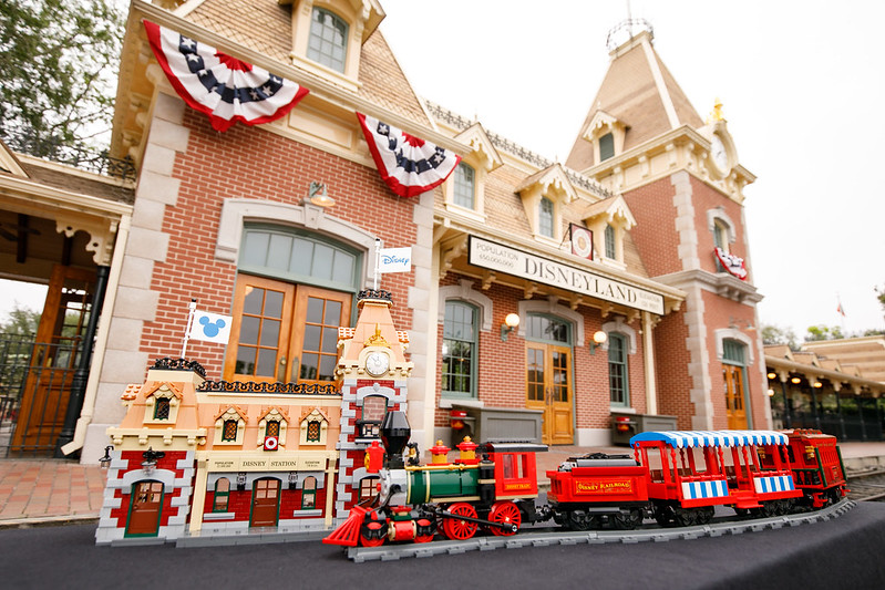 LEGO Group Announces The Arrival Of The Iconic Disney Train