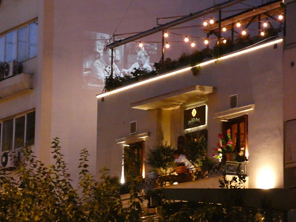 cinéma sur le toit