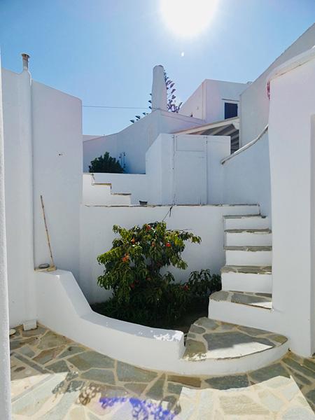 Maison Naxos le matin