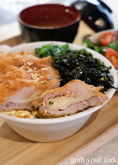 Pork katsu at Dopa by Devon in Darling Square Sydney