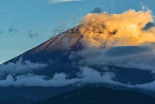 Mt.Fuji      The evening of summer