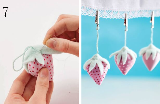 Strawberry Tablecloth Weights 7