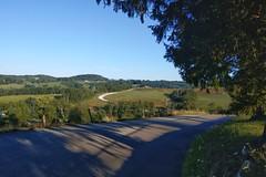 Summer morning near Glyde, PA