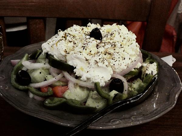 salade naxos