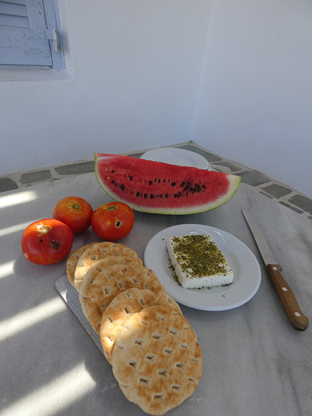 premier dîner