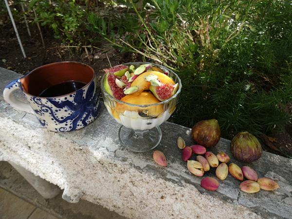 petit déjeuner aux pistaches
