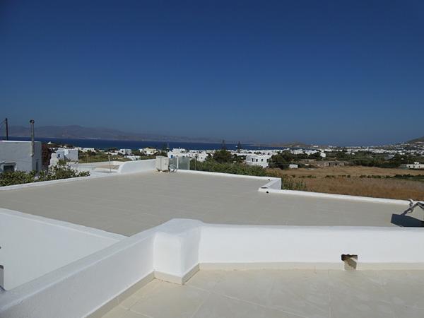 Terrasse maison Naxos