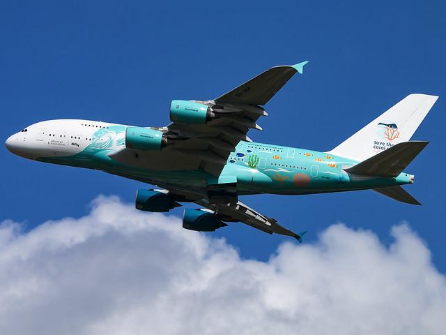 Hi Fly Malta | Airbus A380-841 | 9H-MIP