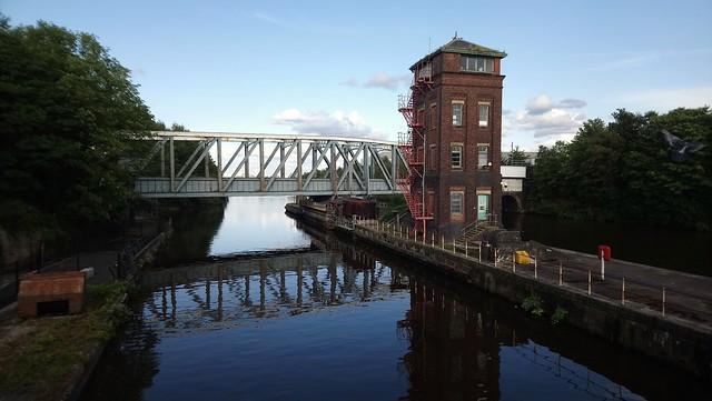 The Unique Barton Swing Aqueduct