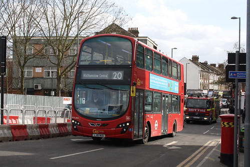 Go-Ahead London WVL460 LJ61NUU