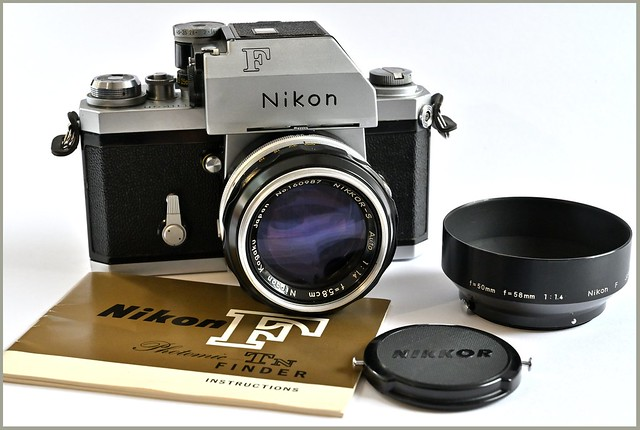 Nikon F Photomic-Tn and 58mm 1.4