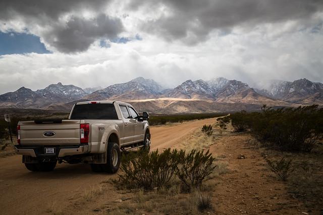 Mountains Meet The Desert