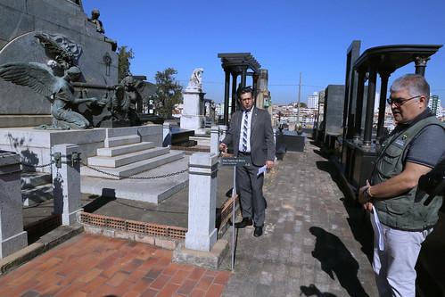 Visita técnica para verificar as condições estruturais e funcionais do Cemitério do Bonfim - Comissão de Administração Pública
