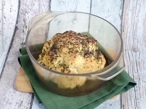 Im Ofen gerösteter ganzer Blumenkohl (2)