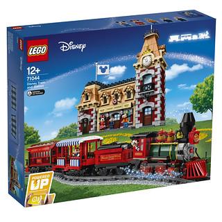 搭上蒸汽火車出發,夢想就在前方! LEGO 71044【迪士尼火車與車站】Disney Train and Station