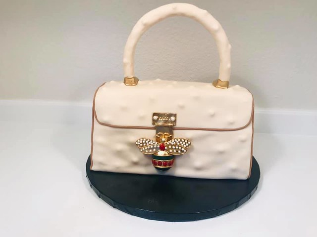 Gucci Purse Cake by Audrey Cheney Wilkins