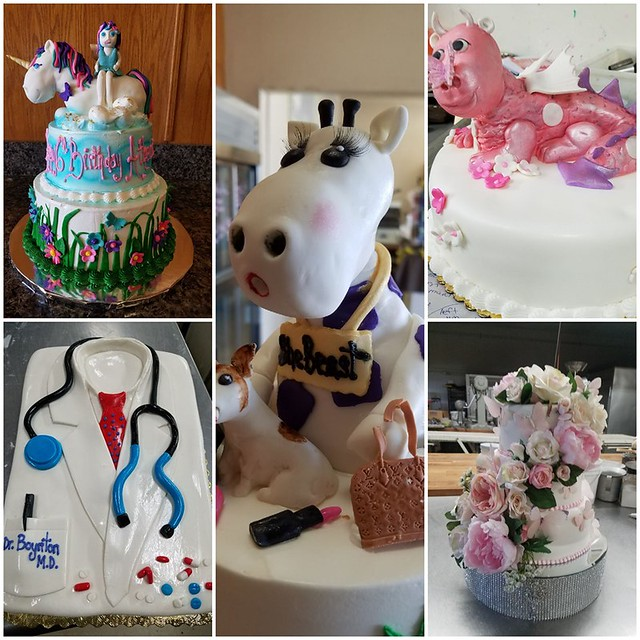 Cakes by Elisa Marglin