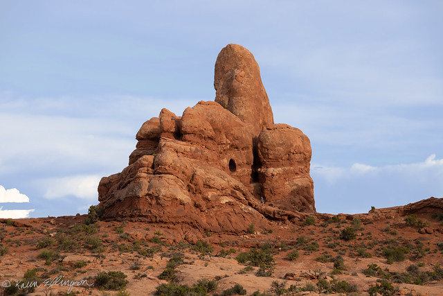 Another Angle....Turret Arch