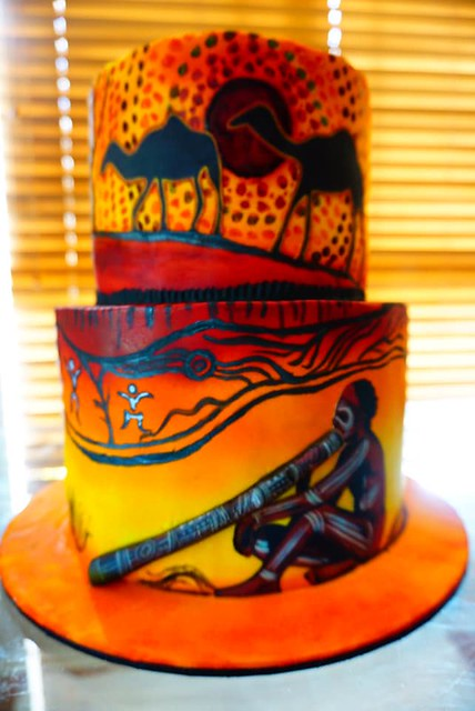 Cake by Nisha Polhena Wijayarathna