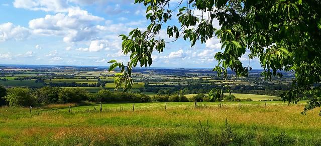 Landscape, Avebury, England, UK.