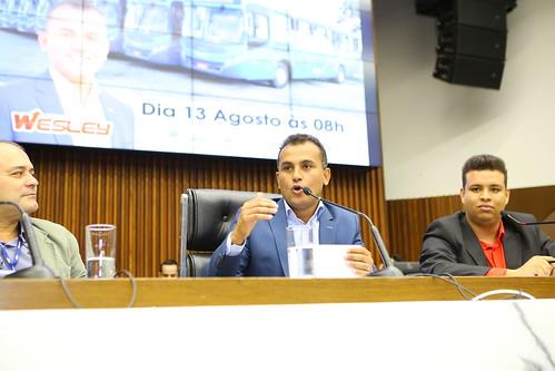 Audiência pública para apresentar e debater a respeito de estudo de reestruturação do transporte coletivo - Comissão de Desenvolvimento Econômico, Transporte e Sistema Viário