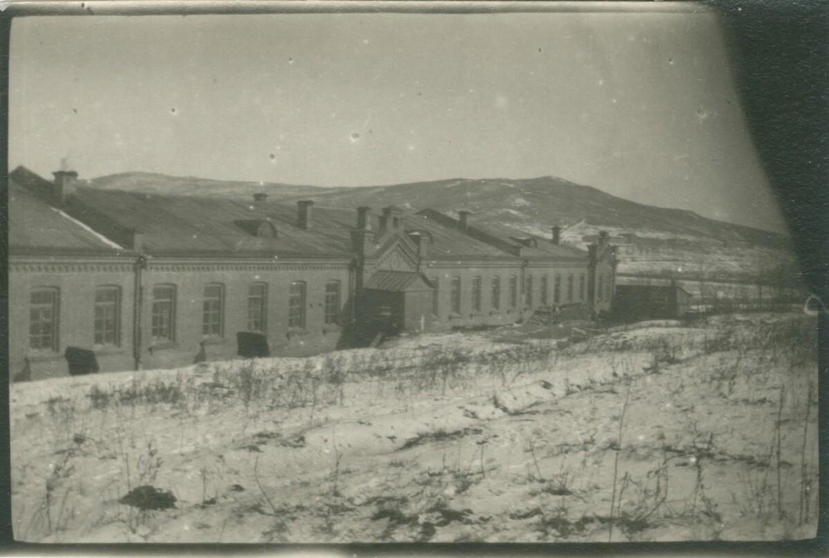 Казарма в Гнилом углу. Владивосток
