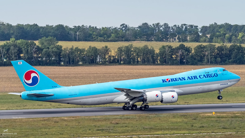 HL7639 Korean Air Lines Boeing 747-8B5F