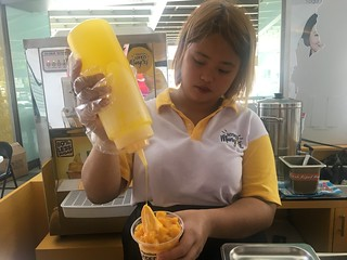 Miguelito's Hyped Mangoes, Tomas Morato | by beingjellybeans
