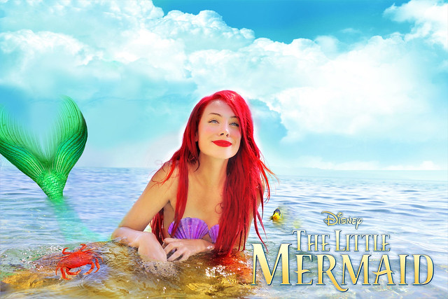 Ariel - The Little Mermaid Cosplay by Sarina Rose