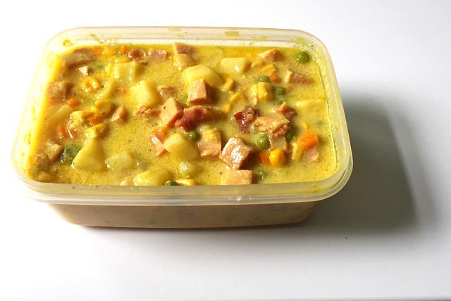 Cheesy Ham Chowder - Leftovers / Schinken-Käse-Eintopf - Resteverbrauch