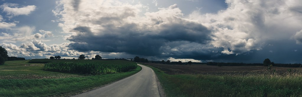 Landschaft | Felder & Wolken | 13. August 2019 | Köllingbek - Kreis Plön - Schleswig-Holstein