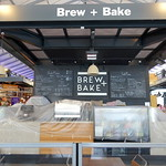 Brew + Bake cafe at Preston Market all wrapped up